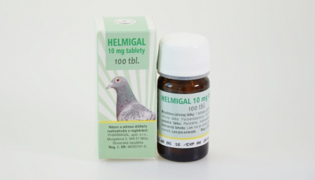 HELMIGAL 10 mg tablets